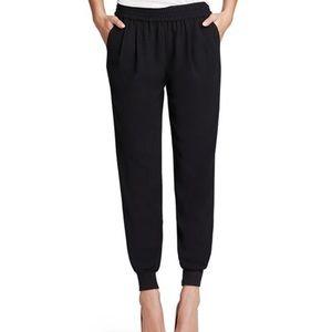 Joie Mariner Jogger Black Pants Sz S